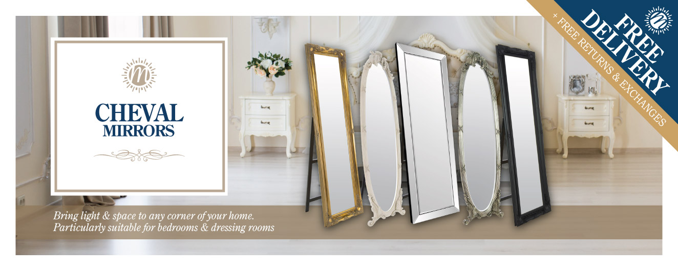 Cheval/Free Standing Mirrors