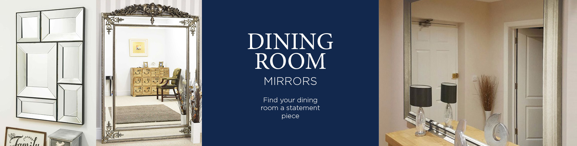 Dining Room Mirrors & Decorations