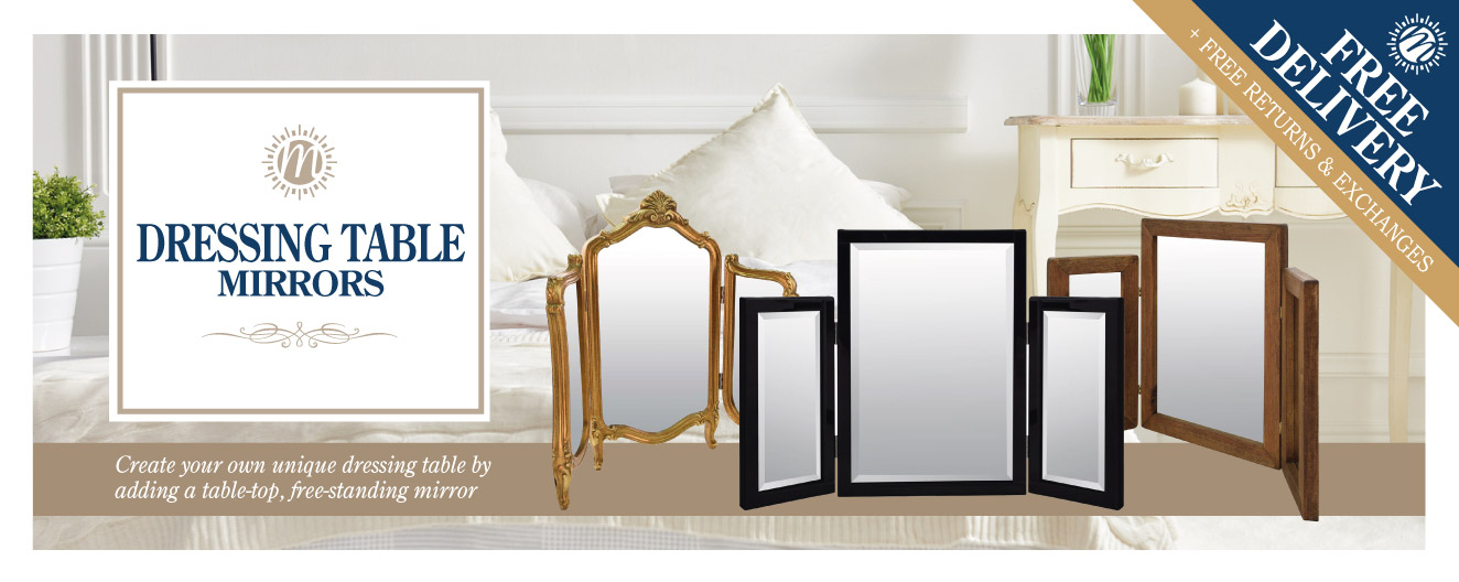 Dressing Table Mirror Range Mirror Outlet
