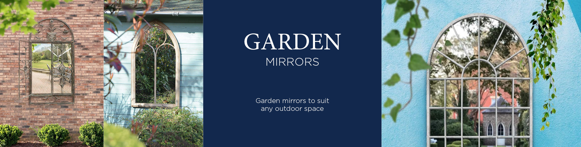 Shop Outside Amp Garden Mirrors Mirror Outlet