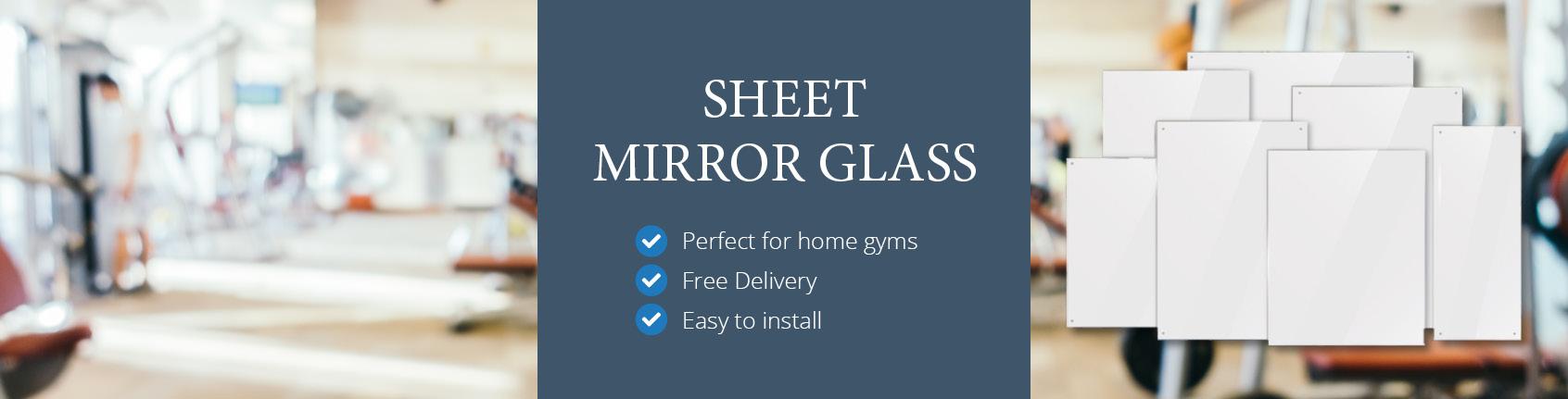 Gym Mirrors / Mirror Glass