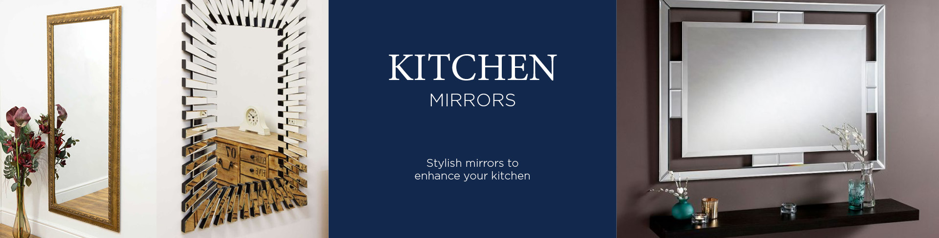 Kitchen Mirrors & Decorations