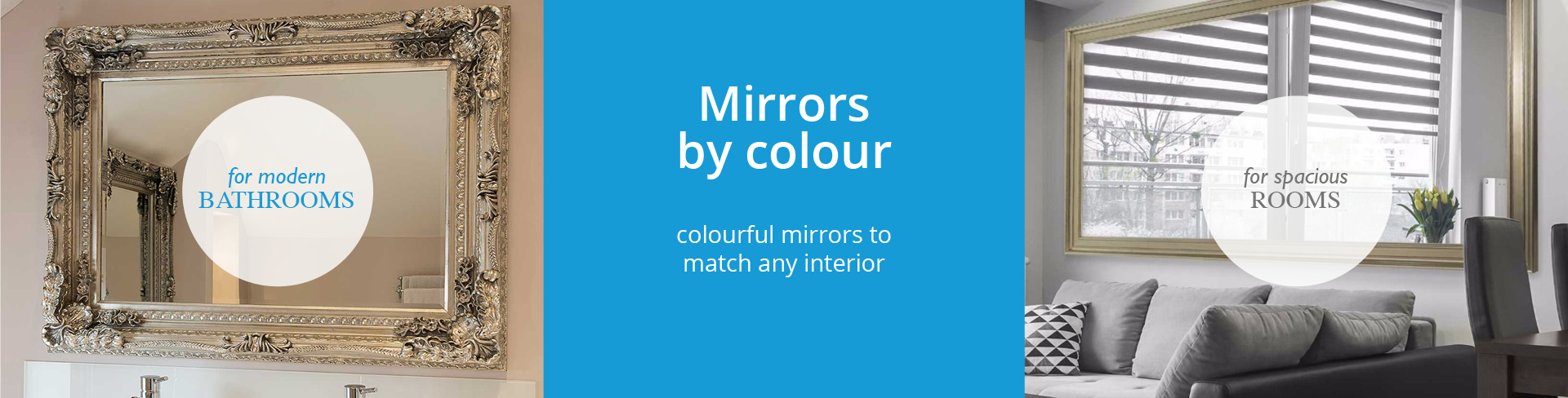 Mirrors By Colour