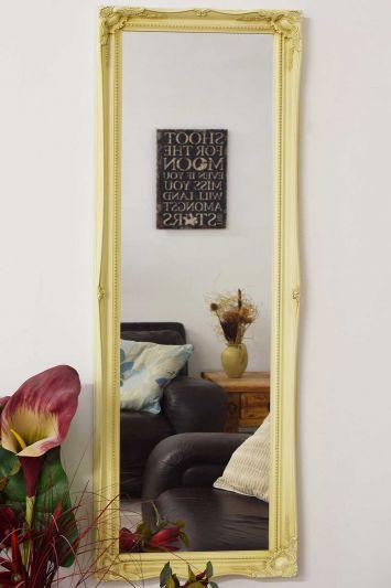 Fraser Ivory Beaded Dress Mirror 122 x 41 CM