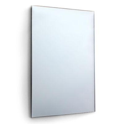 Circuitt Safety Backed 4mm Sheet Mirror Glass Bevelled 76 x 51 CM