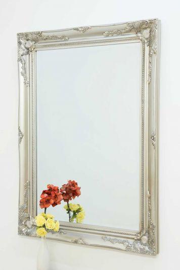 Buxton Silver Wall Mirror 110 x 79 CM