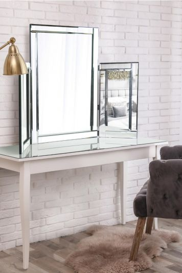 3ft6 x 2ft7 108cm x 78cm Very Large Dressing Table Venetian Mirror