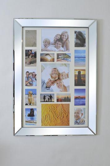 Vista All Glass Elegant Collage Picture Frame 106 x 76 CM