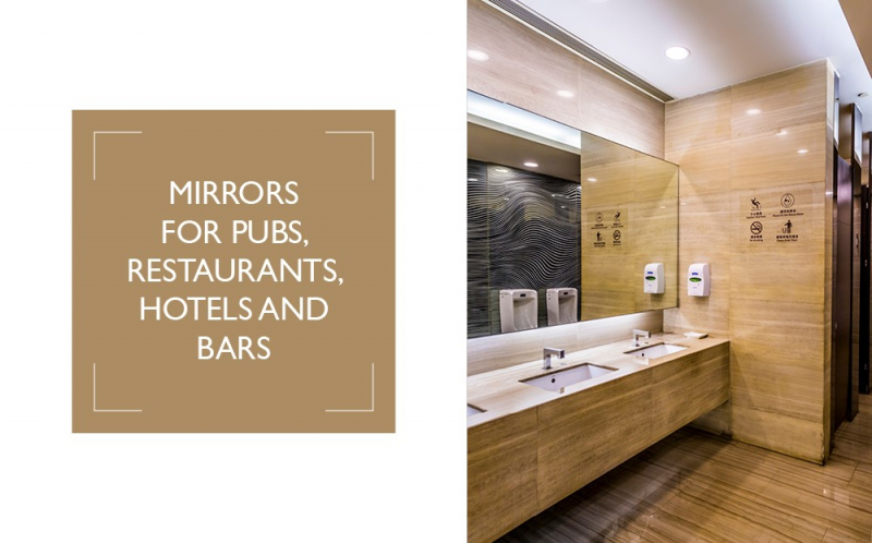 Mirrors for Pubs, Restaurants, Hotels and Bars