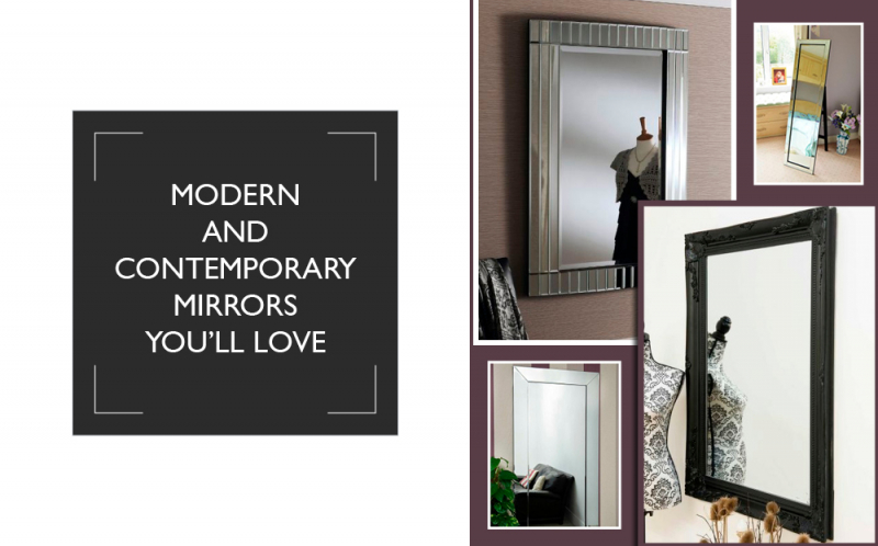 Modern and contemporary mirrors for your home